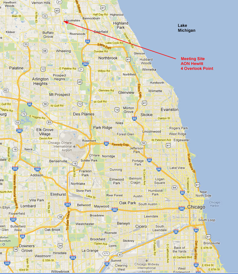 CAVMEN Chicago Metro Area Map